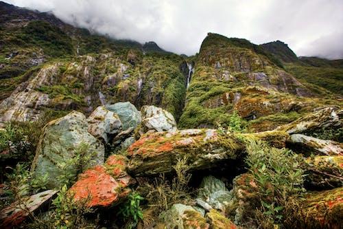 Fotobanka sbezplatnými fotkami na tému hora, krajina, mach, oblačný