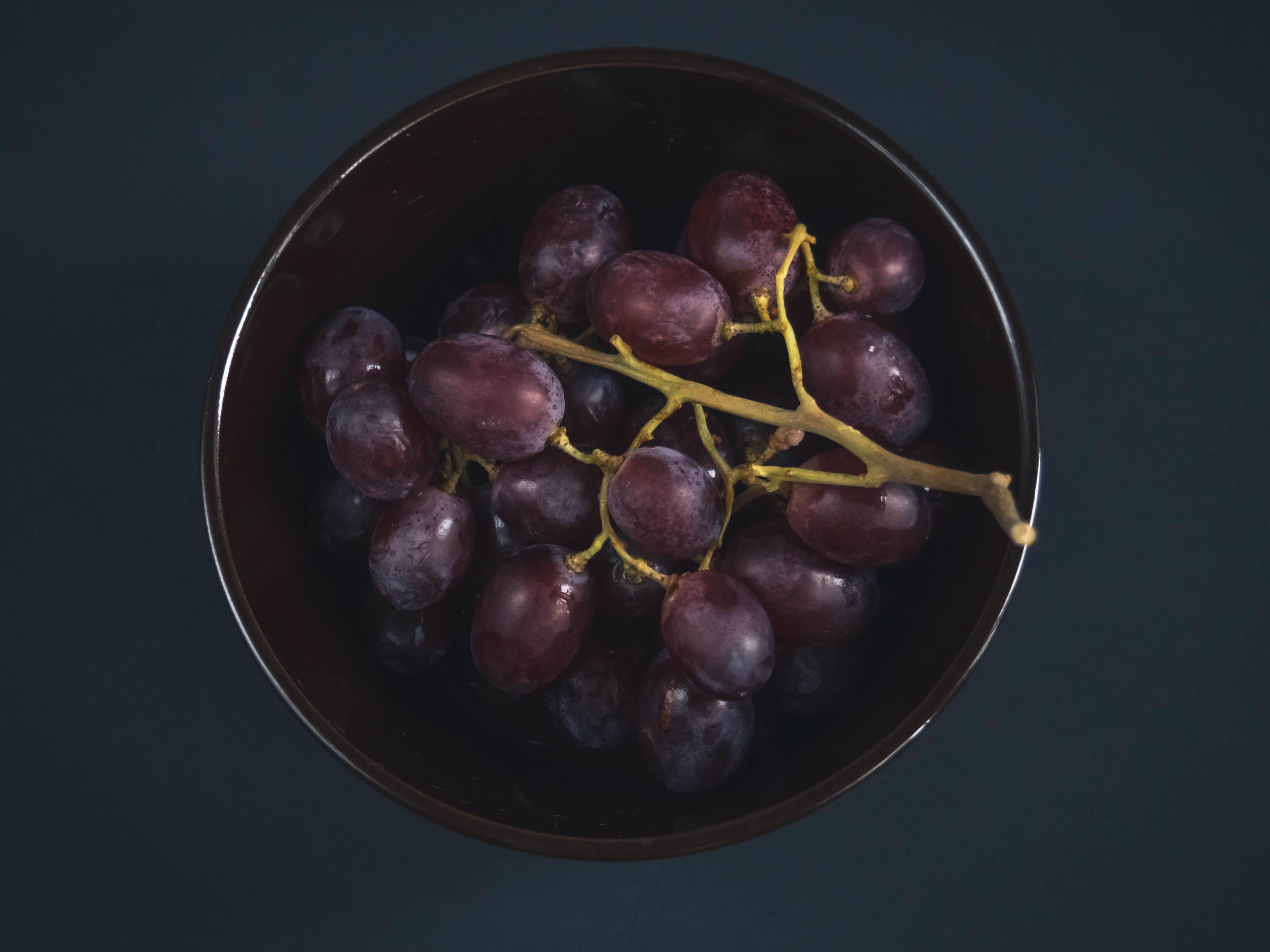 Free stock photo of background, berries, bunch, dark