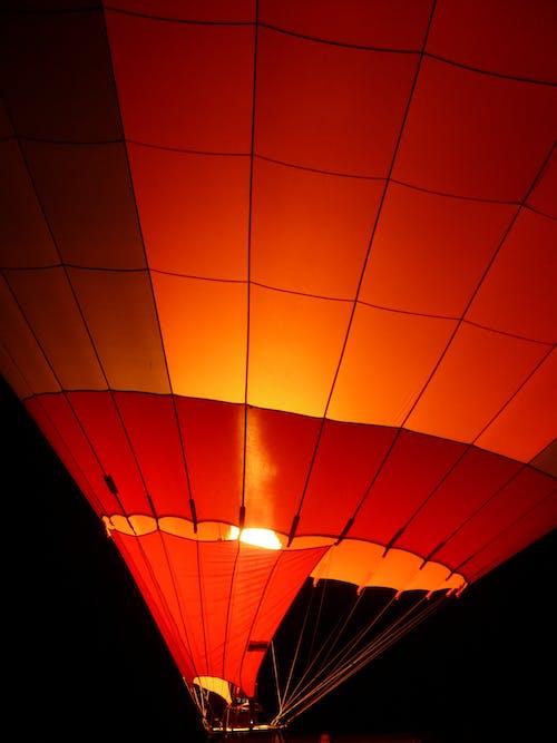 Foto stok gratis api, balon udara, cahaya, malam