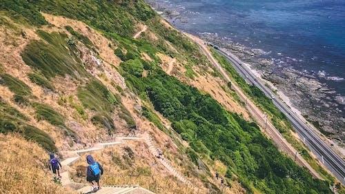 Foto stok gratis air, batu, bukit, gunung