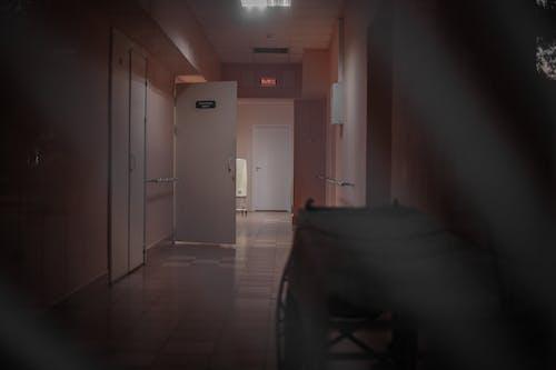 ドア, ビネット, 廊下の無料の写真素材