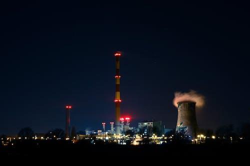 塔, 工廠, 工業, 建設 的 免費圖庫相片