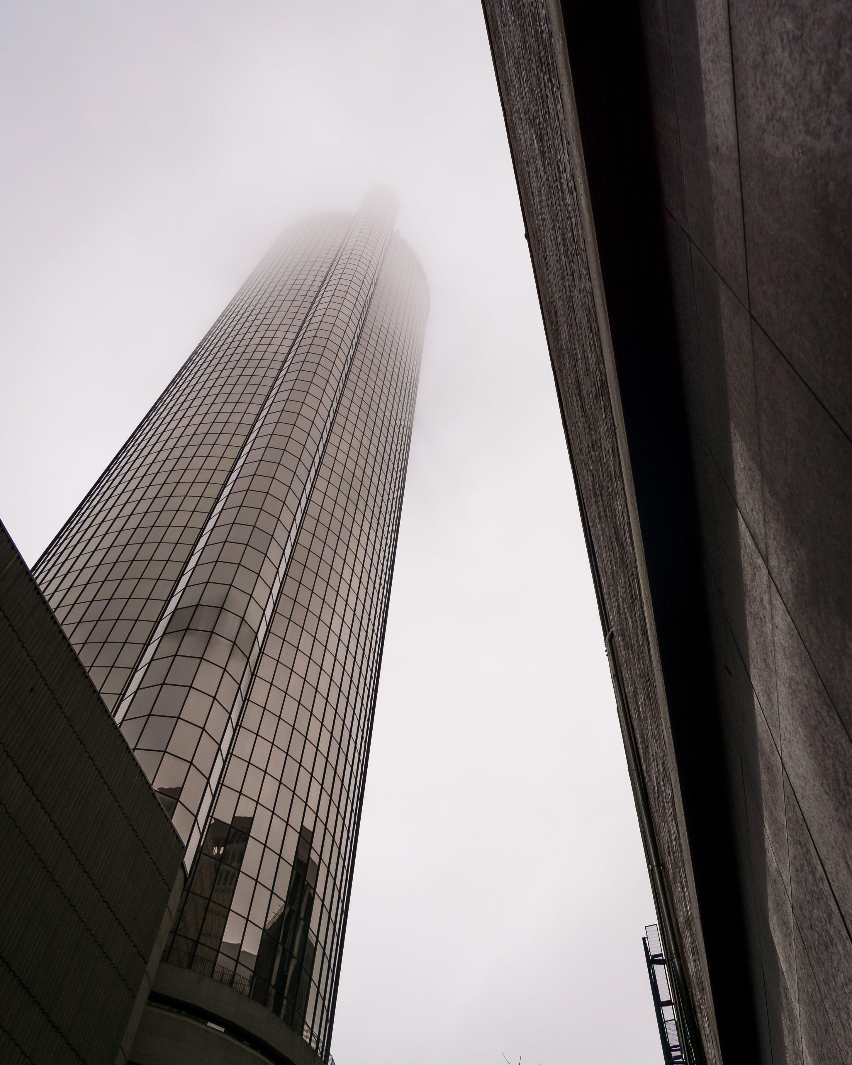 Free stock photo of atlanta, building, city, fog