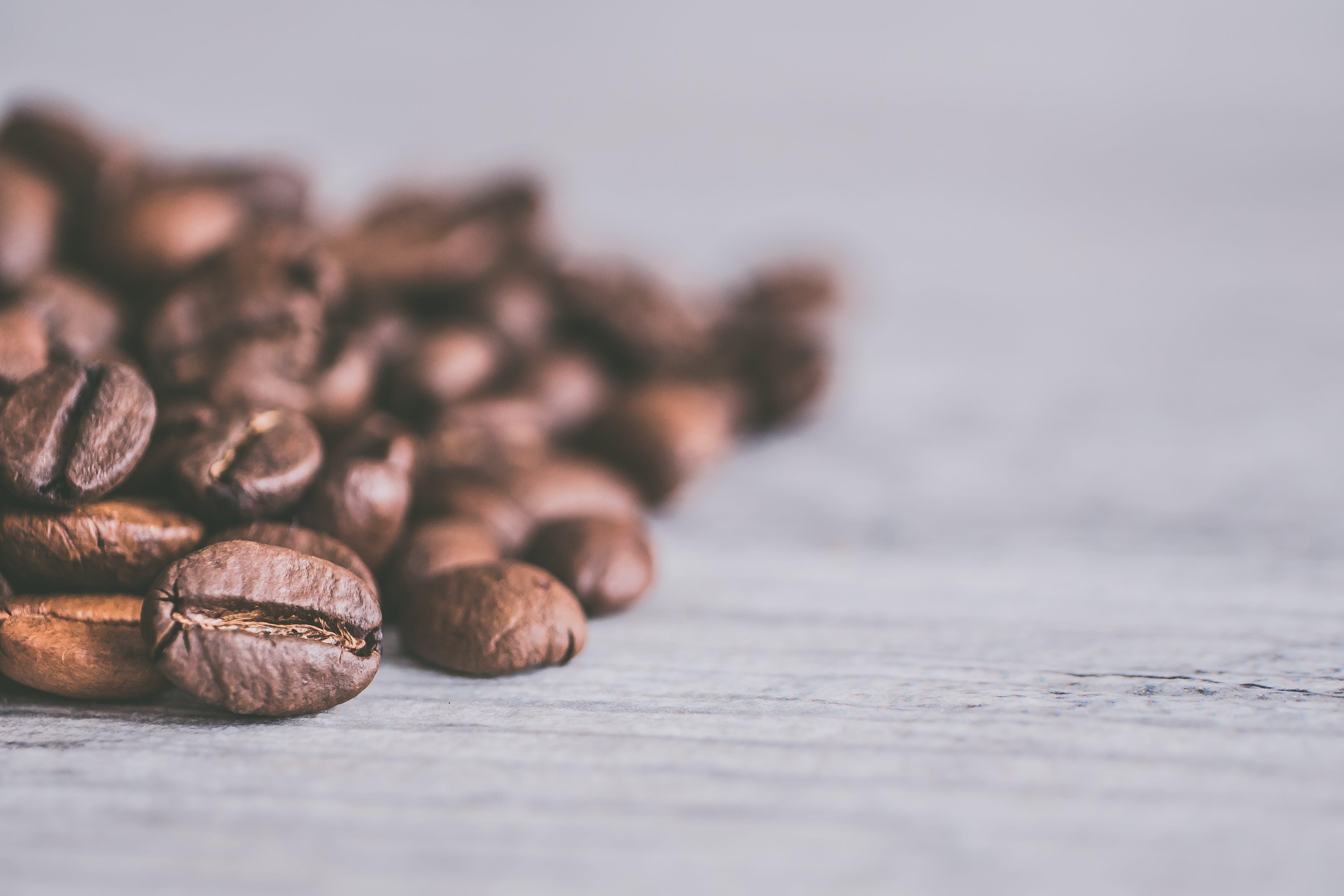 Coffee Beans Closeup Photography