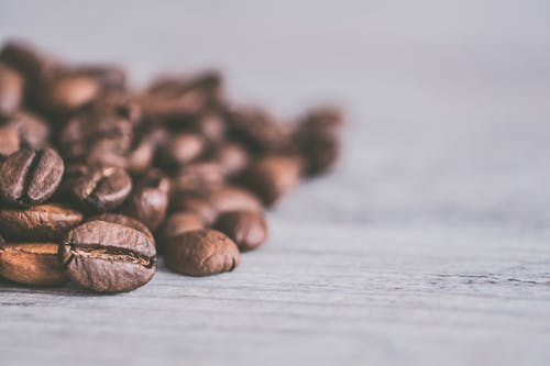Coffee Beans Closeup Photography
