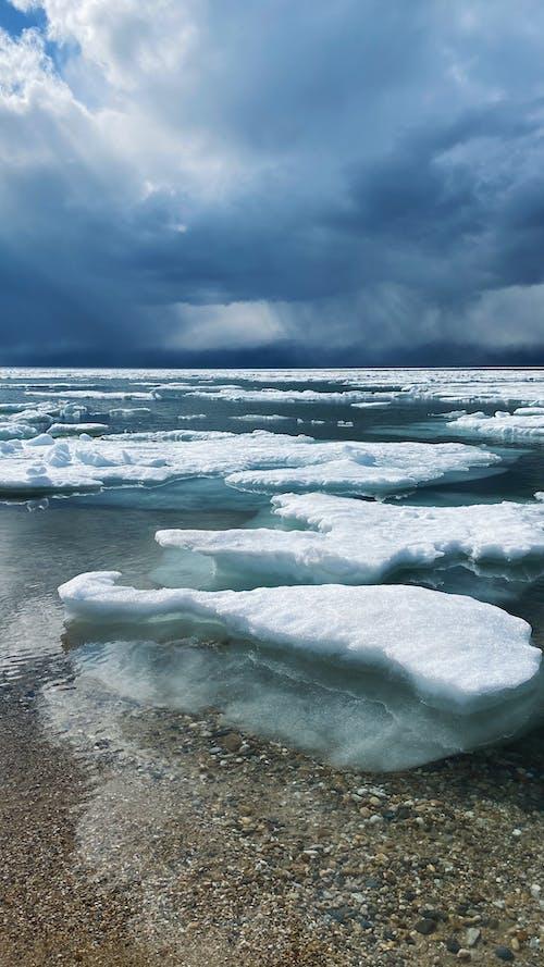 Iceberg Melting In The Arctic Ocean