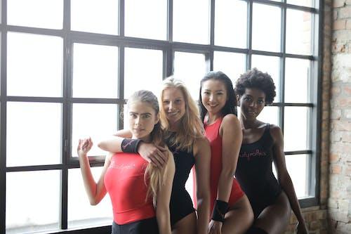 Photos gratuites de africain, Asiatique, athlète, blanc