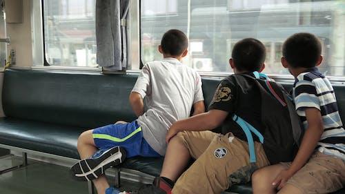 Free stock photo of child, Raiway, train