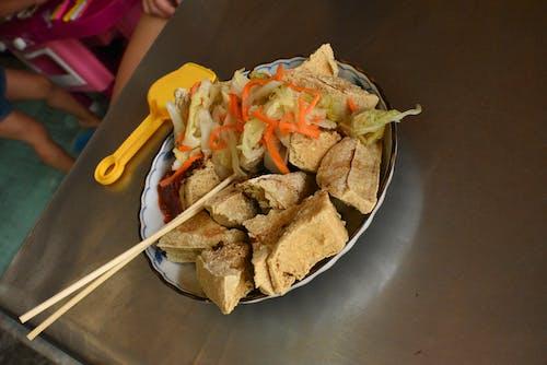 Free stock photo of sticky tofu