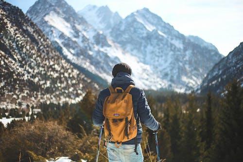 Gratis stockfoto met avontuur, backpack, beklimmen, berg