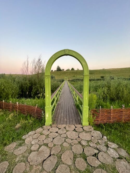 Ảnh lưu trữ miễn phí về cánh đồng, cầu, cây