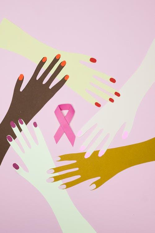 Kostenloses Stock Foto zu abbildung, brustkrebs, bunt