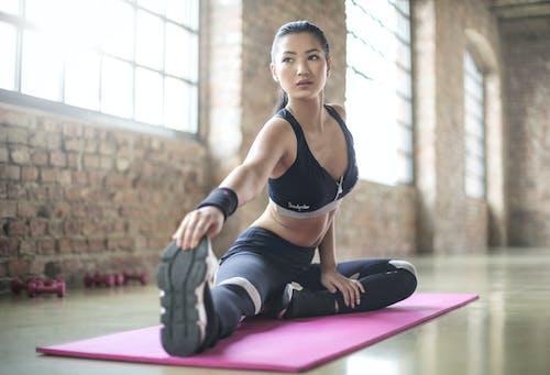 คลังภาพถ่ายฟรี ของ การออกกำลังกาย, ขา, คล่องแคล่ว, ความงาม