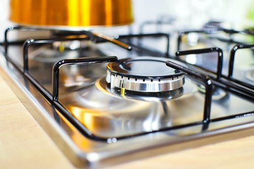 Free stock photo of appliance, burner, clean, close-up