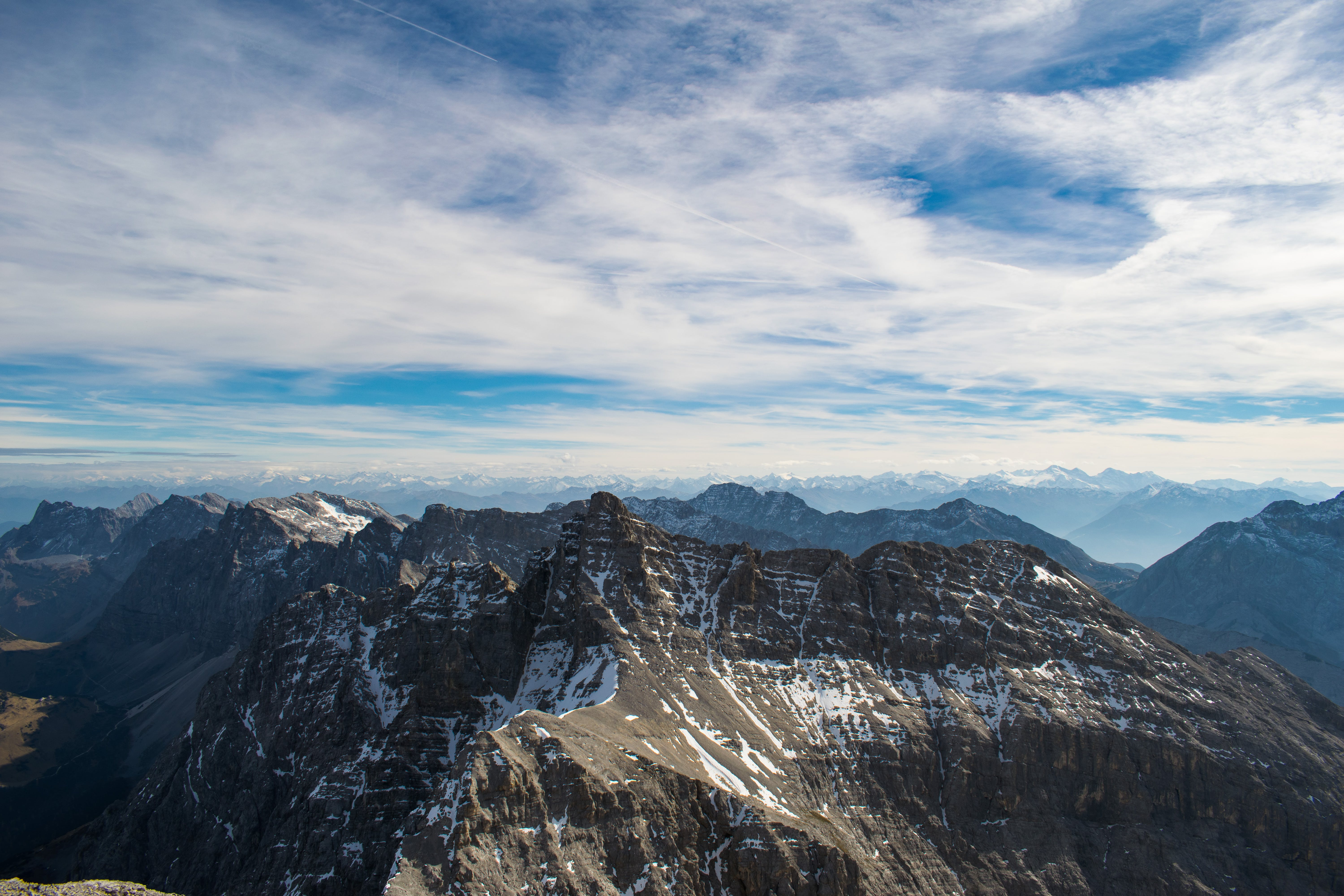 Aerial Photography of Mountains