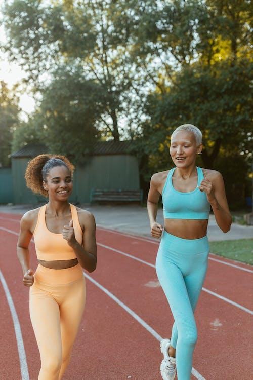 Women Jogging Together