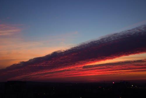 天空, 日落, 獨特, 華美 的 免費圖庫相片