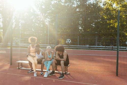 グループ, スポーツウェア, ダイバーシティの無料の写真素材