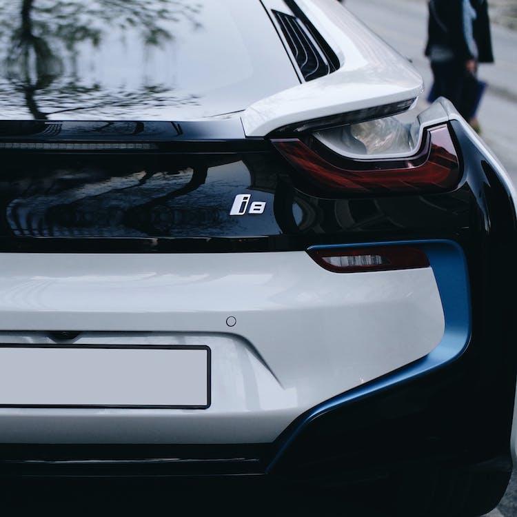 achterlichten, auto, BMW