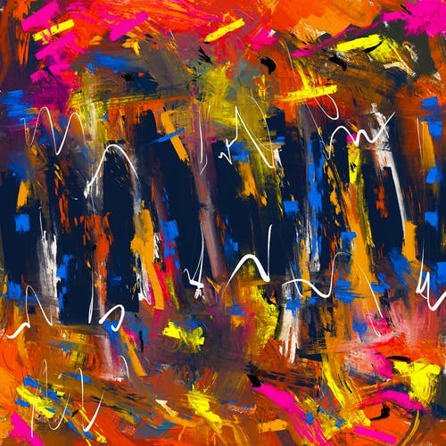 Gratis stockfoto met abstract, abstract expressionisme, abstracte kunst