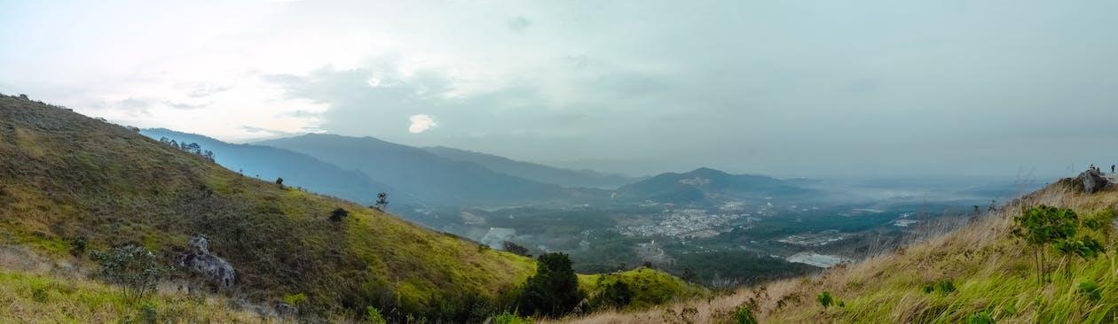 경치, 문명, 언덕