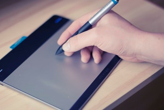 Free stock photo of pen, technology, tablet, touchscreen
