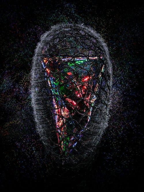 Darmowe zdjęcie z galerii z abstrakcyjny, błyszczący, ciemny