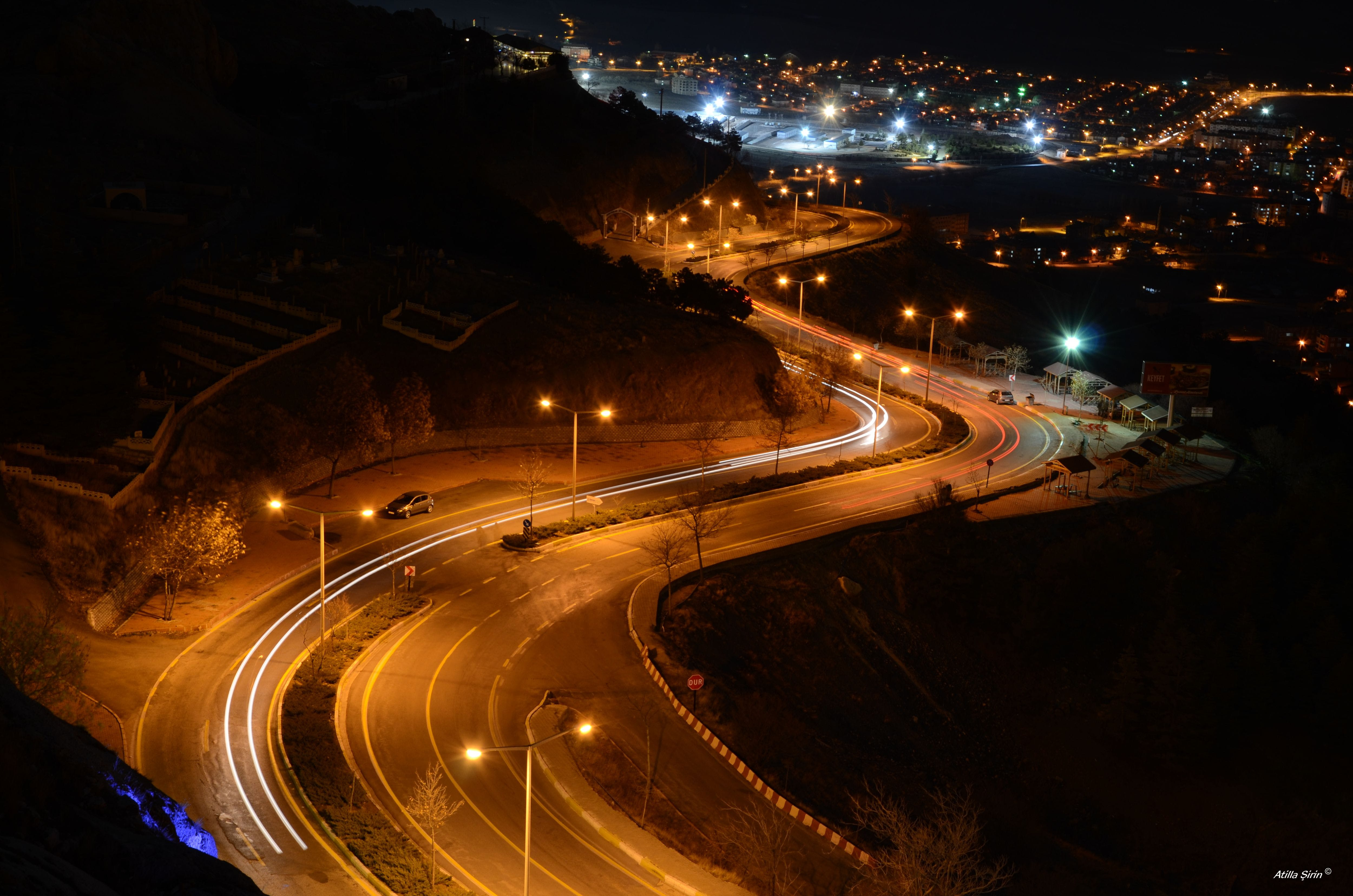 Free stock photo of long exposure, night photography, night time