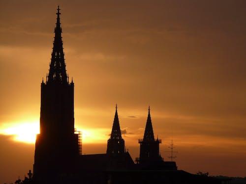 Ingyenes stockfotó építészet, épület, katedrális, Napkelte témában