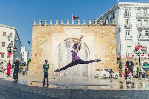 Free stock photo of ballet, ballet dancer, city street