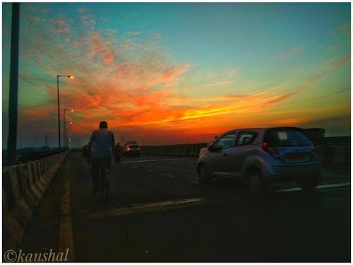 Gratis stockfoto met avondzon, dramatische hemel, foto's, gekleurd