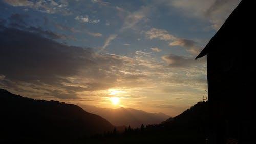 Free stock photo of clouds, evening sun, horizon, panorama