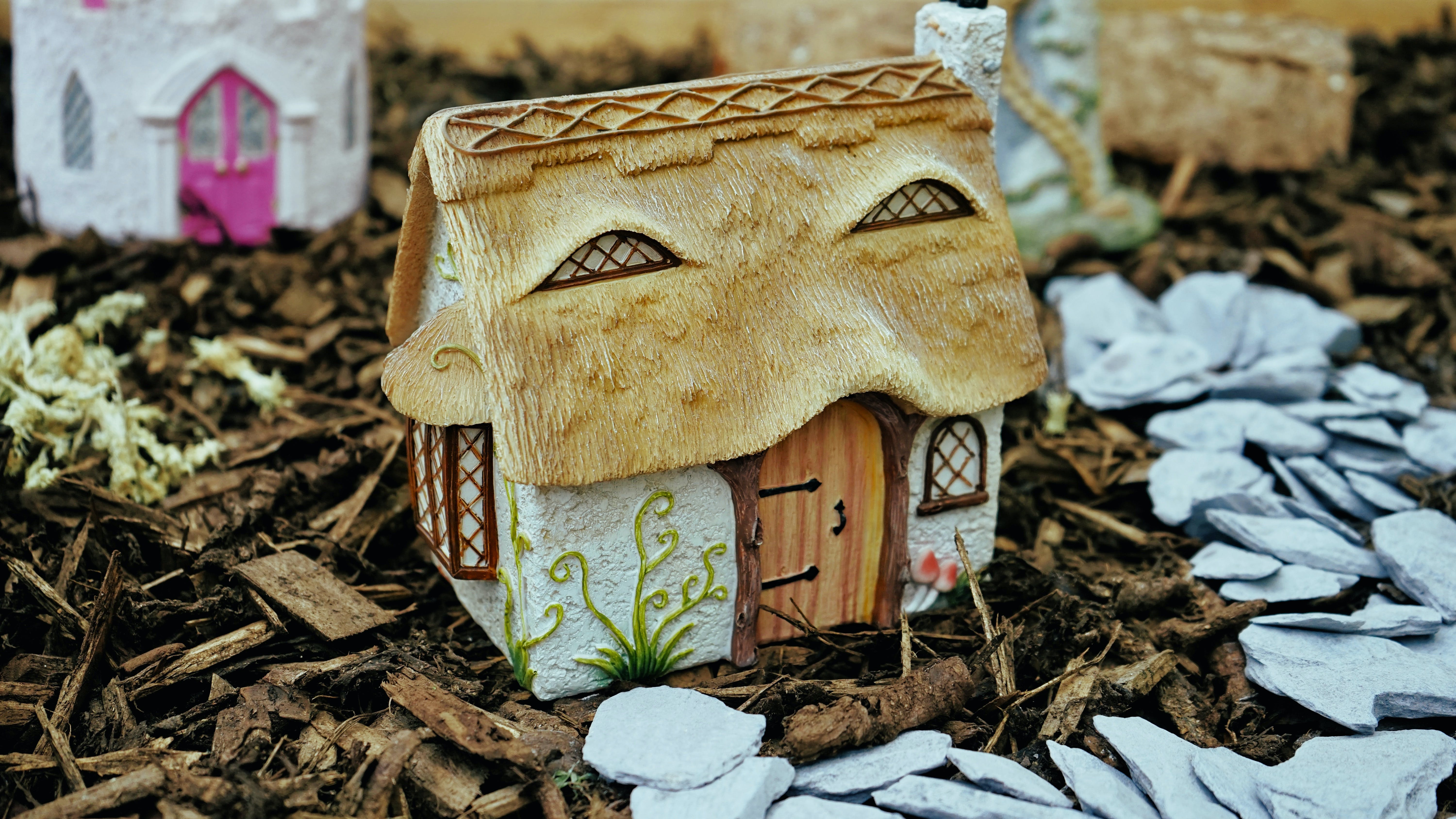 Free stock photo of fairy tale, house, small