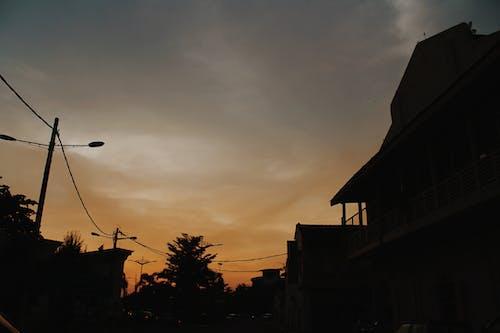 Δωρεάν στοκ φωτογραφιών με δύση του ηλίου, πόλη