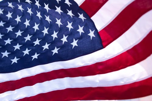 The Flag of United States of America