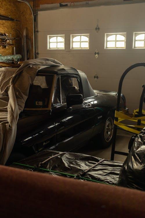 Gratis lagerfoto af alpha romeo, autoværksted, bil