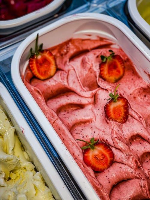 冰淇淋, 口味, 可口的 的 免費圖庫相片