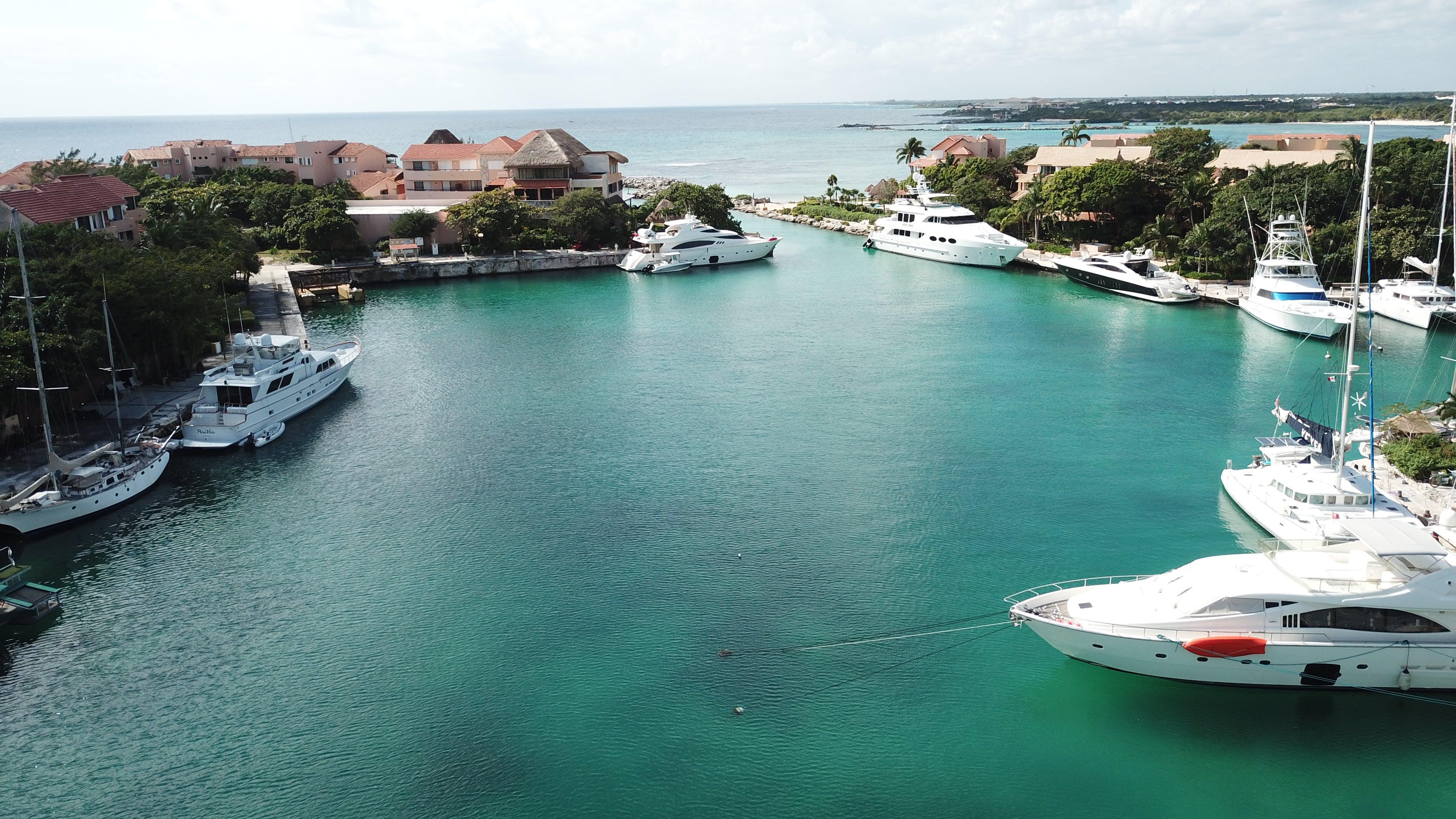 Kostenloses Stock Foto zu #puertoaventura, #yachthafen, #yatch