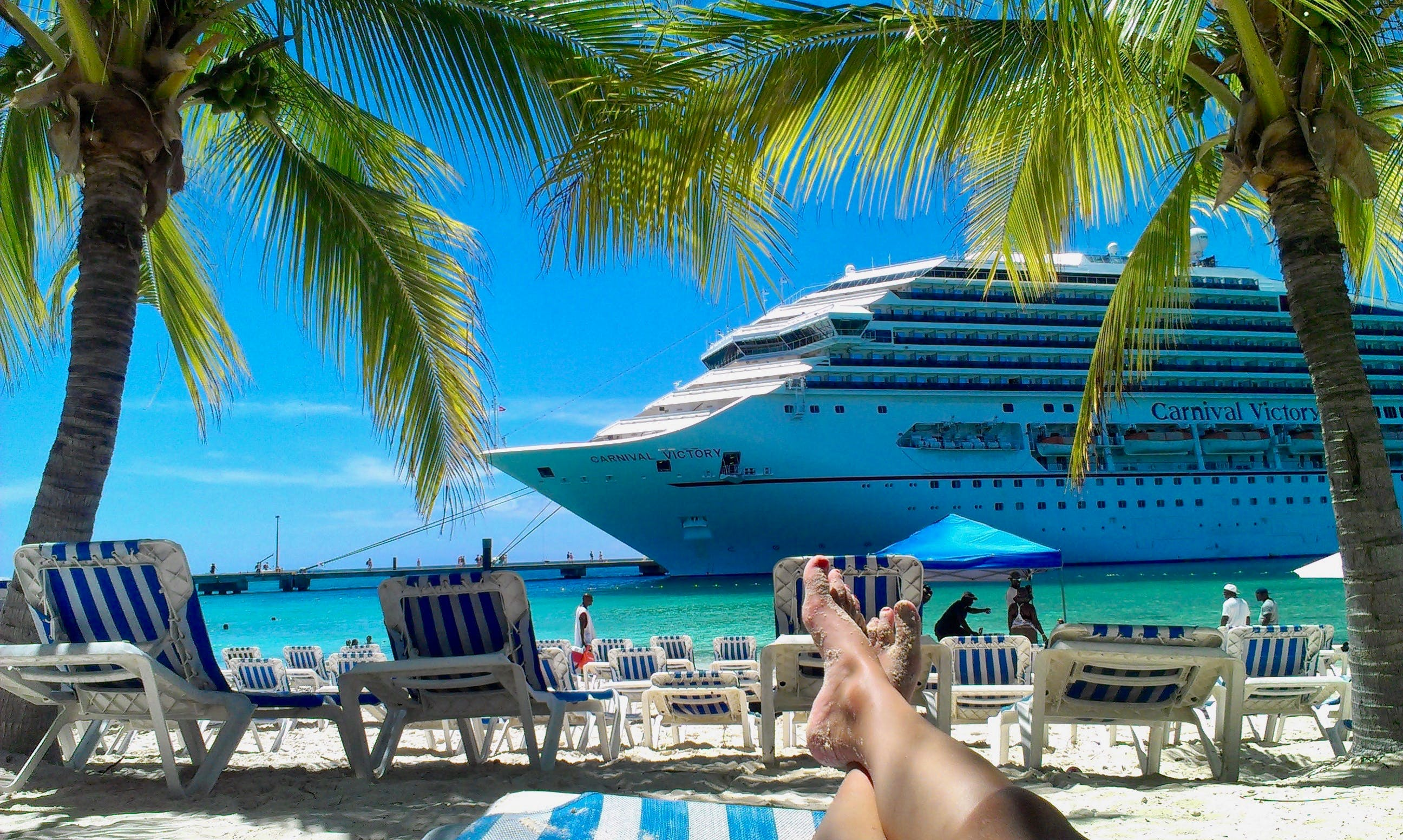 Free stock photo of blue sky, chill, holidays, ocean cruise