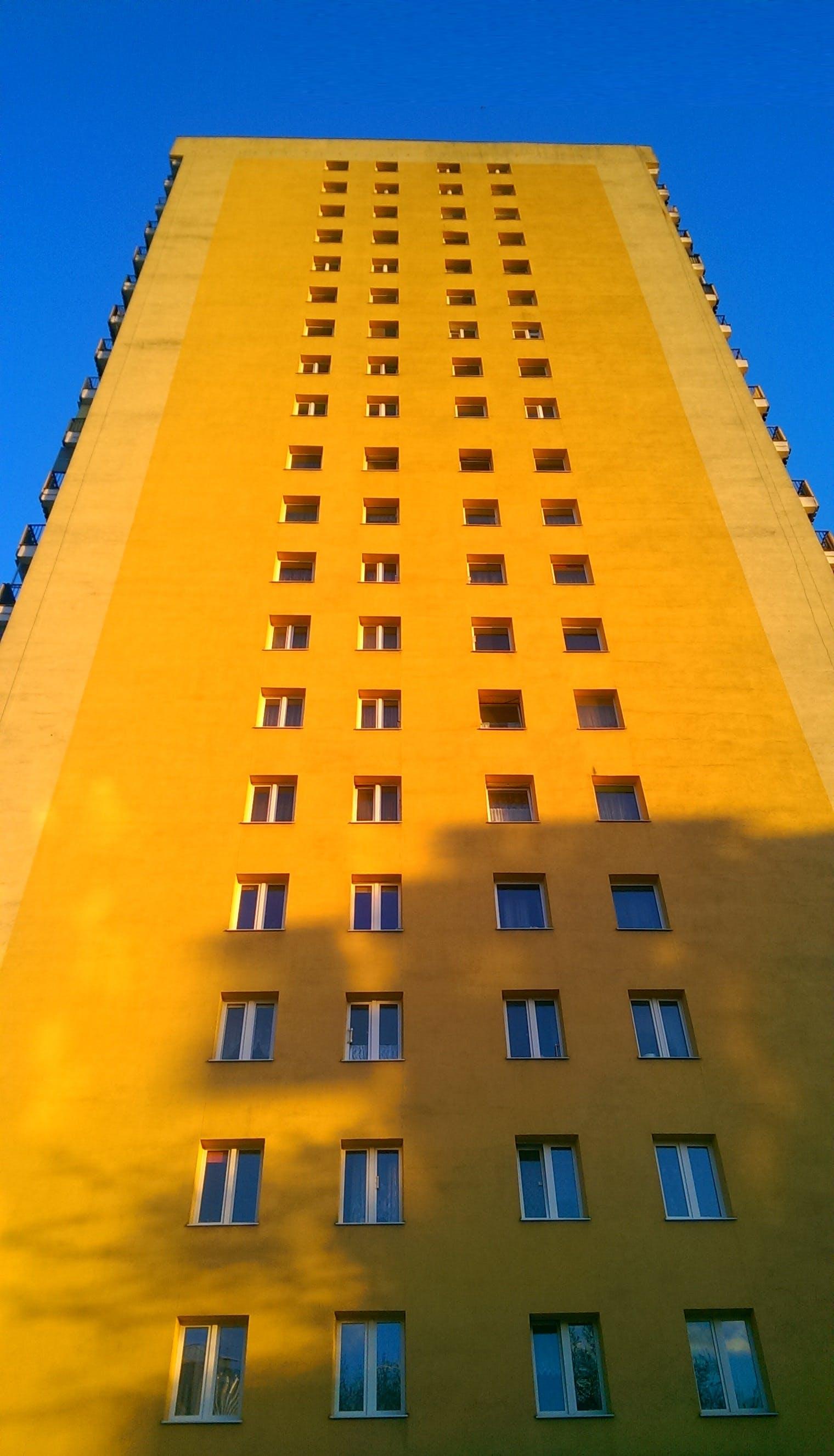 Free stock photo of block, flats
