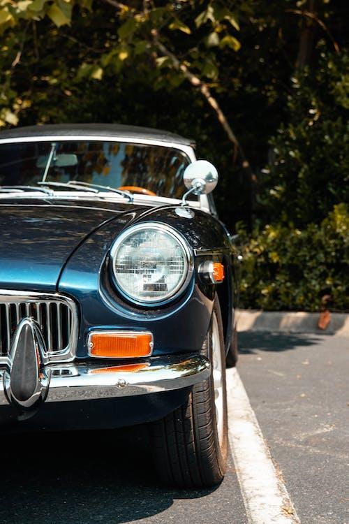 คลังภาพถ่ายฟรี ของ กระโปรงหน้ารถ, ขับรถ, คลาสสิก