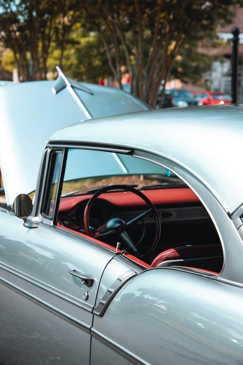 คลังภาพถ่ายฟรี ของ กระจกบังลม, กระโปรงหน้ารถ, ขับรถ