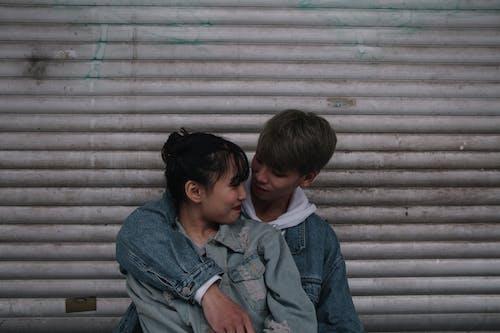 คลังภาพถ่ายฟรี ของ ความรัก, ความใกล้ชิด, คู่, คู่รักเอเชีย