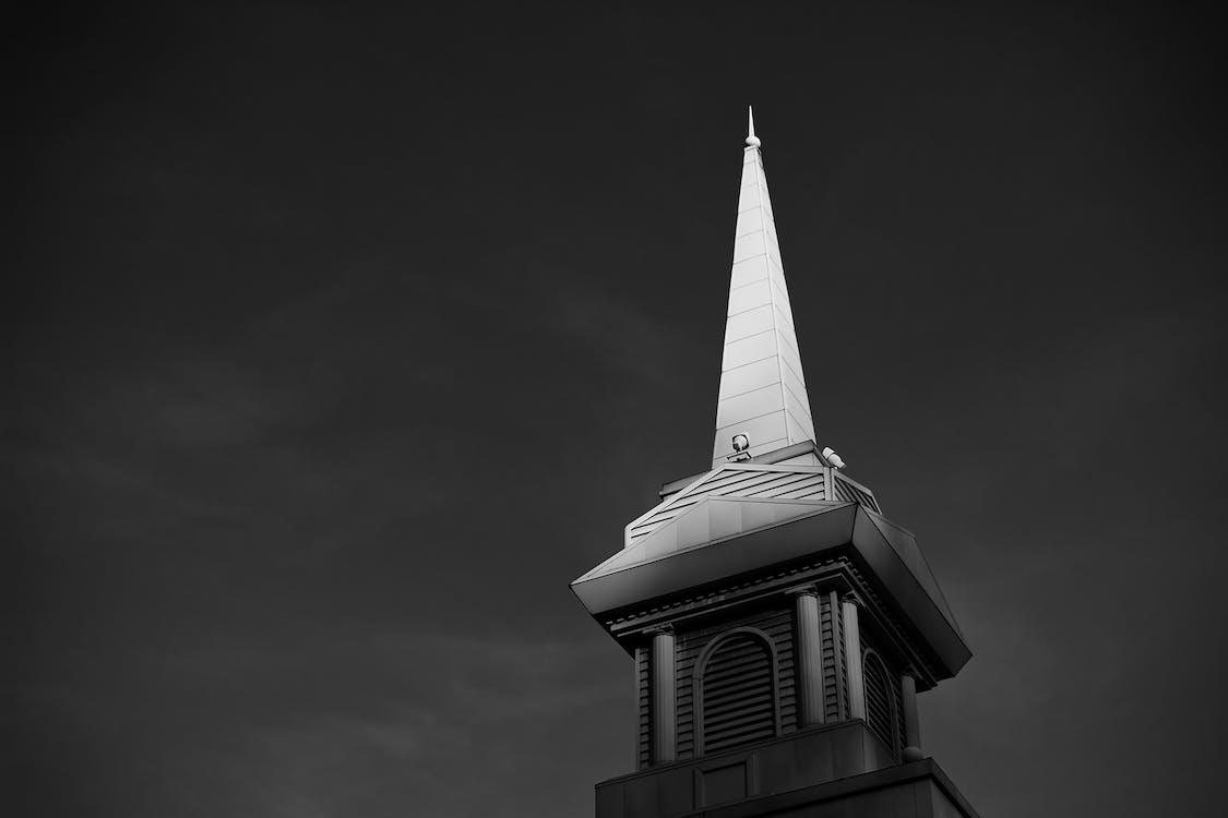 arquitectura, blanco y negro, edificio