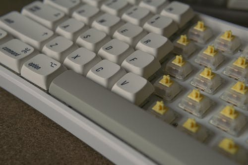 Free stock photo of apple mac, brown, computer keyboard