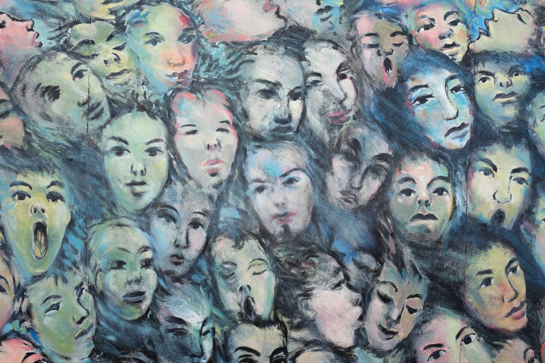 Free stock photo of berlin, faces, graffiti, painting