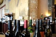 restaurant, bar, bottles