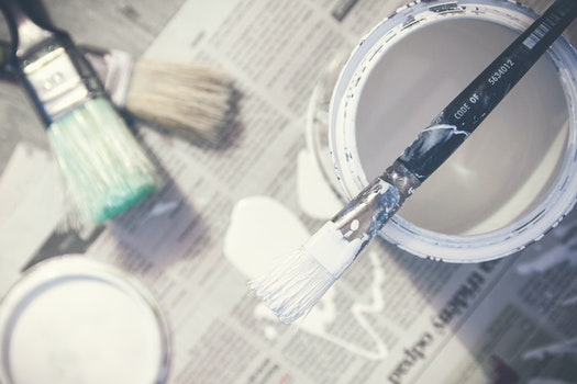 Free stock photo of art, brush, white, creativity