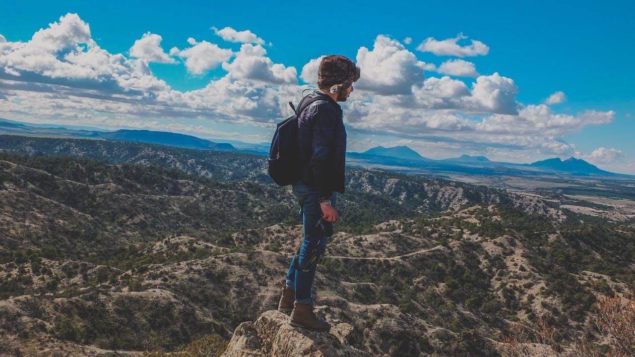 äventyr, bergen, bergsklättring