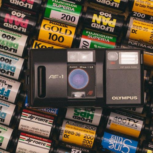 Olympus, 指向和射击, 攝影, 相機 的 免费素材照片